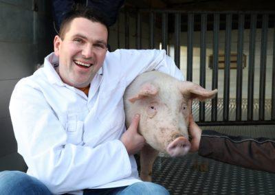 Ich und Schwein